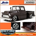 1955 - Chevy STEPSIDE Pickup Marrom - Jada - 1/24