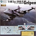 JAS-39A/C GRIPEN - Kitty Hawk - 1/48
