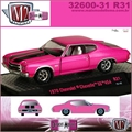 1970 - Chevrolet CHEVELLE SS 454 R31 Pink - M2 Machines - 1/64