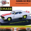 1969 - Chevrolet CAMARO SS/RS 350 Z10 R32 CHASE - M2M - 1/64