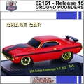 1970 - Dodge Challenger R/T 383 R15 CHASE CAR - M2 Machines - 1/64