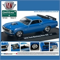 1970 - Ford MUSTANG BOSS 429 Azul - M2M - 1/64
