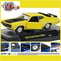 1970 - Ford TORINO Cobra Amarelo - M2 Detroit-Muscle - 1/64