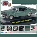 1967 - ACADIAN Canso Sport DeLuxe Verde - M2 Detroit-Muscle - 1/64