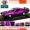 1971 - Dodge Charger R/T 383 Roxo R30 - M2M - 1/64