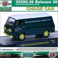 1965 - Ford ECOLINE Delivery Van R36 CHASE CAR - M2 Auto-Trucks - 1/64