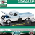 1967 - Ford F-100 Custom Cab R38 Azul - M2 Auto-Trucks - 1/64