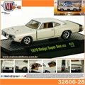 1970 - Dodge Charger Super Bee 383 Branco - M2M - 1/64