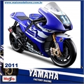 Moto GP YAMAHA 2011 FACTORY RACING N11 - Maisto - 1/10