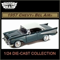 1957 - Chevy BEL AIR Verde - Motormax - 1/24