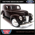 1940 - FORD SEDAN DELIVERY Marrom - Motormax - 1/24