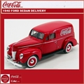 1940 - FORD SEDAN DELIVERY COCA-COLA - Motorcity - 1/24