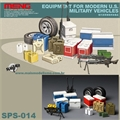 EQUIPMENT FOR MODERN U.S. MILITARY VEHICLES - Meng - 1/35