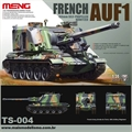 AUF1 French 155mm Self-Propelled Howitzer - Meng - 1/35