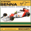 F1 - 1993 McLaren Ford MP4/8 SENNA - Minichamps - 1/18