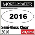 Tinta Model Master 2016 Laca TRANSPARENTE SEMI-BRILHO - 29,5ml