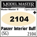 Tinta Model Master 2104 Esmalte PANZER INTERIOR BUFF Semi-Brilho - 14,7ml