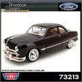 1949 - FORD COUPE Vinho - Motormax - 1/24