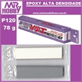 Massa Mr EPOXY PRO-H P120 Alta Densidade - Mr Hobby - 78g