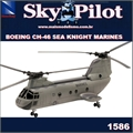 SP - BOEING CH-46 SEA KNIGHT MARINES - New Ray - 1/55