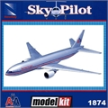 SP - Boeing 777 AMERICAN - (SNAP) DTC Kit New Ray