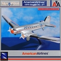 AA - Douglas DC- 3 AMERICAN AIRLINES - New Ray - 1/370