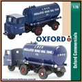 Scammell Mechanical Horse Tanker LNER - Oxford - 1/76