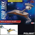 STAR TREK - Romulan Battle Cruiser - Snap-it Polar Lights - 1/1000