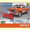 GMC TRUCK PICKUP WITH SNOW PLOW - Revell - 1/25