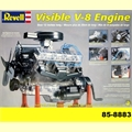 Motor VISIBLE V-8 ENGINE - Revell - 1/4