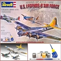 US LEGENDS: 8th AIR FORCE - Revell Gift Set - 3 KITS 1/72