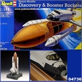 Space Shuttle DISCOVERY and Booster Rockets - Revell - 1/144