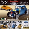 1932 - FORD 5-WINDOW COUPE - Revell 1/25