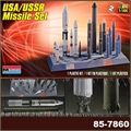 USA / USSR MISSILE SET - Monogram - 1/144