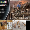 ANZAC INFANTRY (1915) - Revell - 1/35