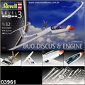Planador DUO DISCUS and Engine - Revell - 1/32