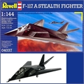 F-117 A STEALTH FIGHTER - Revell - 1/144
