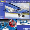 PIPER PA-18 with Bushwheels - Revell - 1/32