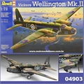 Vickers WELLINGTON Mk. II - Revell - 1/72