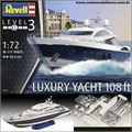 Luxury Yacht 108 ft - Revell - 1/72
