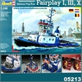 Harbour Tug Boat FAIRPLAY I III X - Revell - 1/144