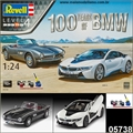 BMW 507 e BMW i8 - 100 Years of BMW - Gift-Set Revell - 1/24