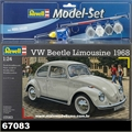 1968 - VW FUSCA COUPE - Model-Set Revell - 1/24