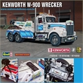 Caminh�o KENWORTH W900 Wrecker - Revell - 1/25