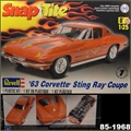 1963 - Chevrolet CORVETTE STING RAY Coupe - Revell - 1/25