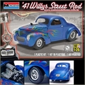 1941 - WILLYS STREET ROD - Monogram - 1/25