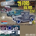 1929 - FORD RAT ROD PICKUP 3n1 - Monogram - 1/25