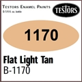 Tinta Testors 1170 Esmalte FLAT LIGHT TAN - 7,4ml