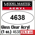 Tinta Model Master 4638 Acryl TRANSPARENTE BRILHO - 29,5ml