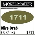 Tinta Model Master 1711 Esmalte OLIVA DRAB FS34087 - 14,7ml